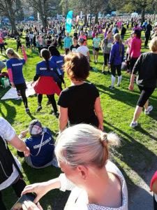 Vårruset - ca 8000 st kvinnor ska springa 5 km